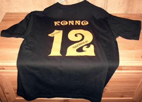 Konno 21'st shirt