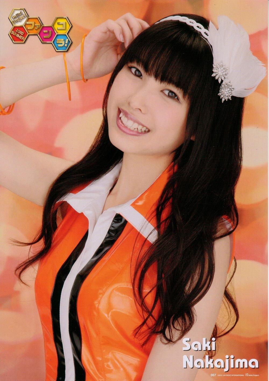 Nakajima Saki (中島早貴) is a Japanese idol, singer, model